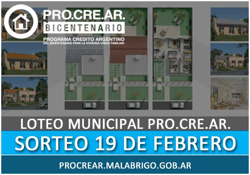 Inscripci n a lotes municipales para pro cre ar for Procrear inscripcion