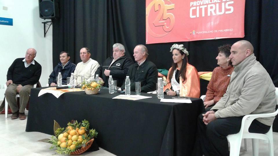 Presentacion Fiesta del Citrus 2016
