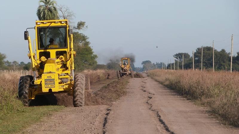 Reparacion de caminos rurales