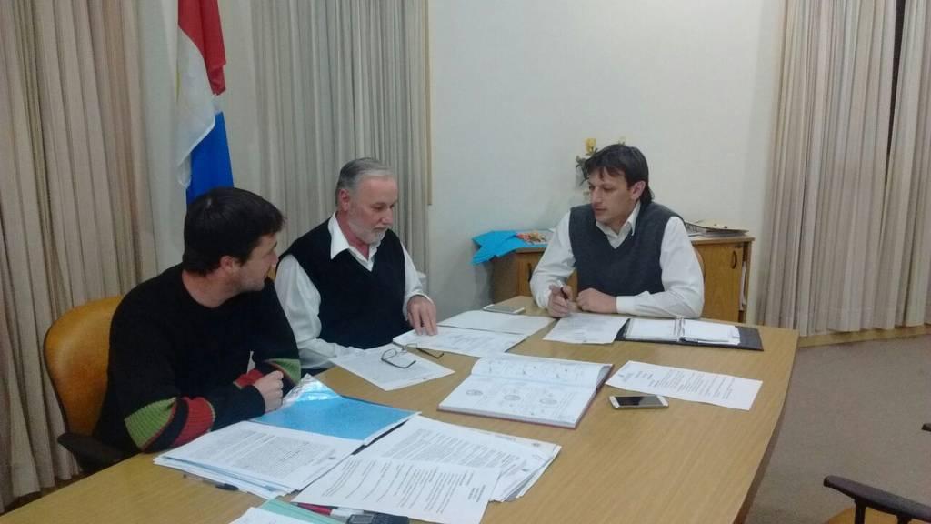 Nardin, Silvestri y Sarramona Concejales del PJ Malabrigo