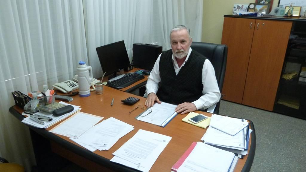 Efrain Silvestri a cargo de la Intendencia
