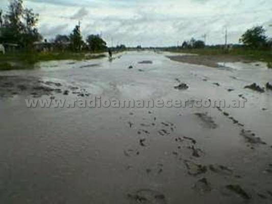 Inundacion en Los Tabanos