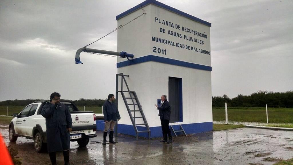 Planta recuperadora de agua