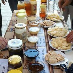 Degustacion de mieles y quesos
