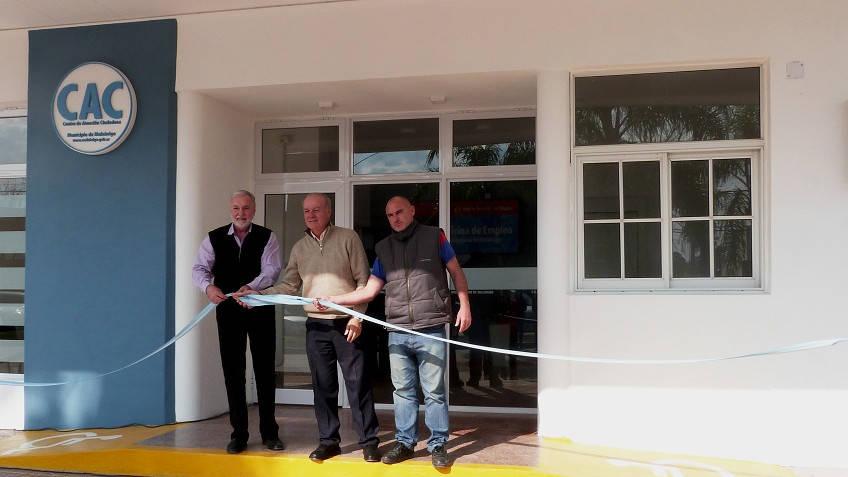 Se inauguro el Centro de Atención a la Ciudadania
